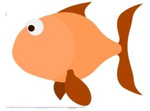 Kleikaart 'Mooiste vis van de zee'