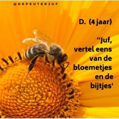 bloelem en bijen