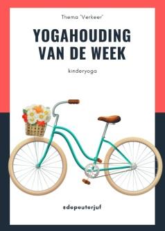 Printscreen yogahouding fiets