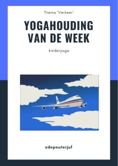 printscreen yogahouding vliegtuig